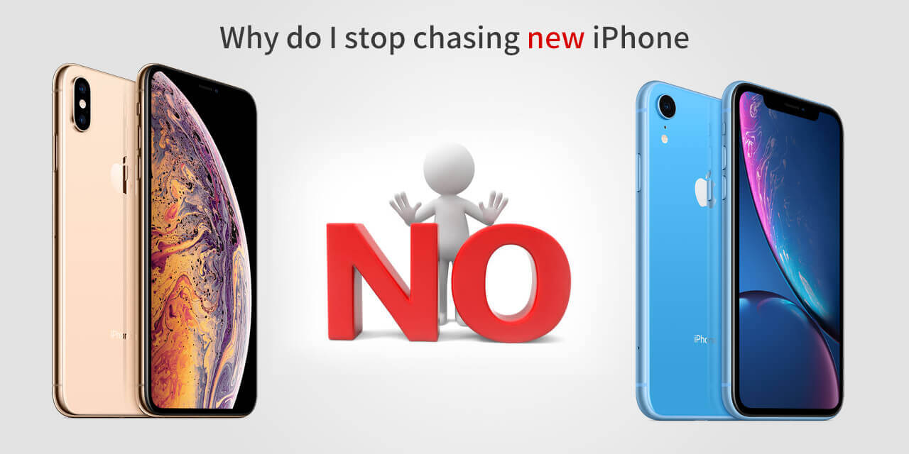 stop chasing new iphone